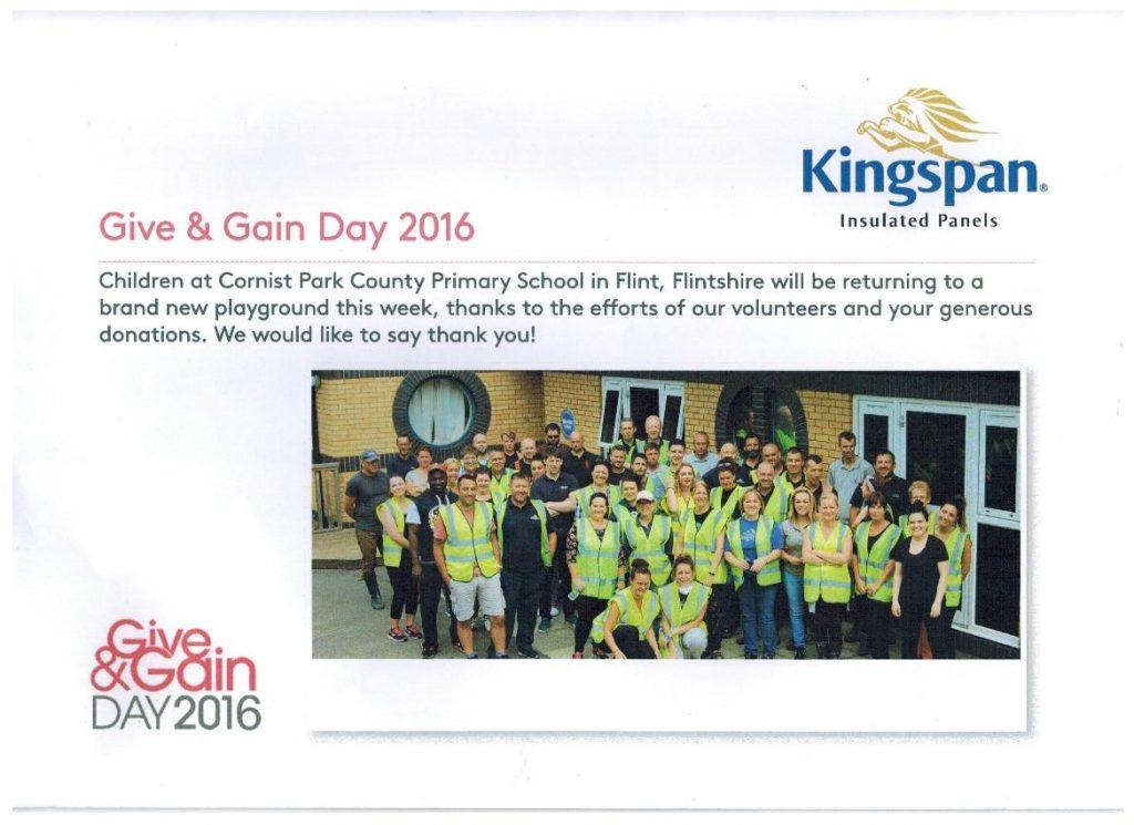 kingspan charity